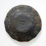 "Lace Circle Dome, 10"" x 10"" x 2 ¼"", cast iron, 2007"